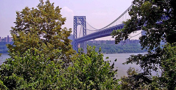 The George Washington Bridge,
