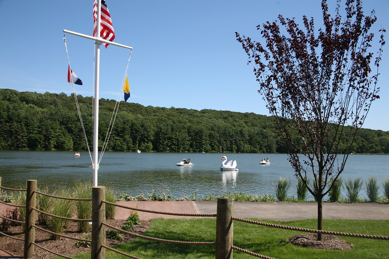 Paddle Boats on the South Orange Reservior
