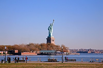 The Statue of Liberty From Jersey City