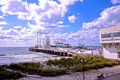 The Famous Steele Pier in Atlantic City