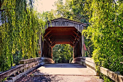 Covered Bridge in Monmouth County, NJ