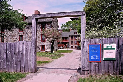 Entrance to the Old Barracks Museum (buildings date back to 1758)