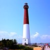 Barnegat Lighthouse on Long Beach Island at the Jersey Shore