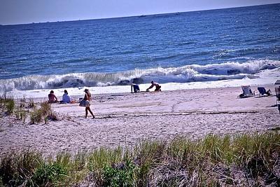 On the Beach in Monmouth Beach, NJ