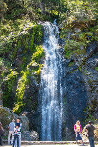 Bridal Veil Falls on the South Fork of the American River