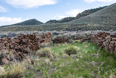 Ruins of a Pony Express station.
