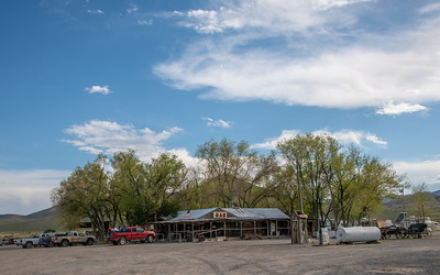 Historic Middlegate Station - aka middle of Nowhere, Nevada. Beer/wine-$2.50