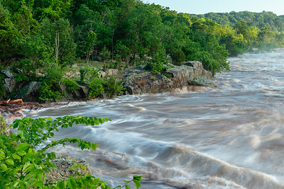 The Flooding of the Potomac at Great Falls