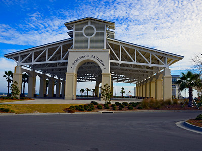 Barksdale Pavilion at the marina in Gulfport, Ms.