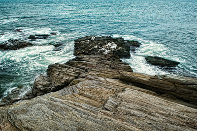 Rocky Path into Deep Sea