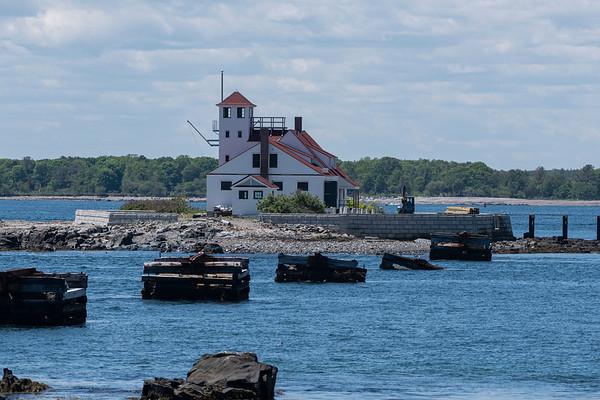 US Coast Guard Wood Island Life Saving Station