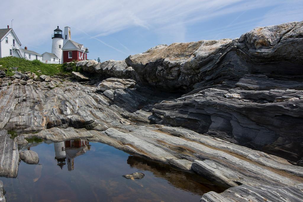 Pemaquid Point  Reflection