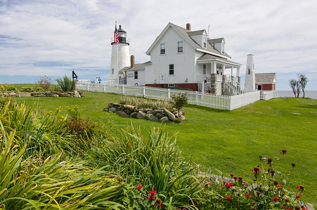 Pemaquid Point Lighthouse - rear view
