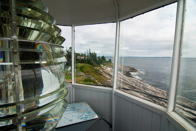 View From Above at Pemaquid Light