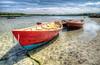 Three Dories on the Annisquam River