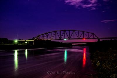 Aberdeen Lock and Dam bridge