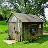 I love this shed on the property.