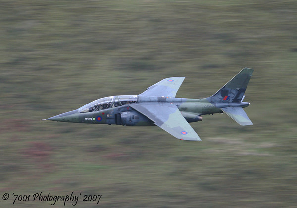 ZJ646 (QINETIQ) Alpha Jet - 29th November 2007.