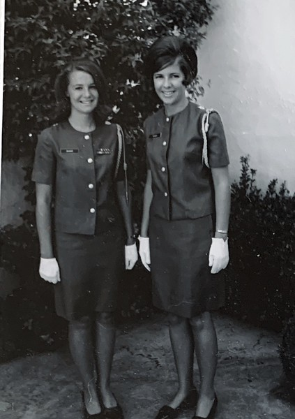 Kadettes: Susie Smart, Debby Scarborough
