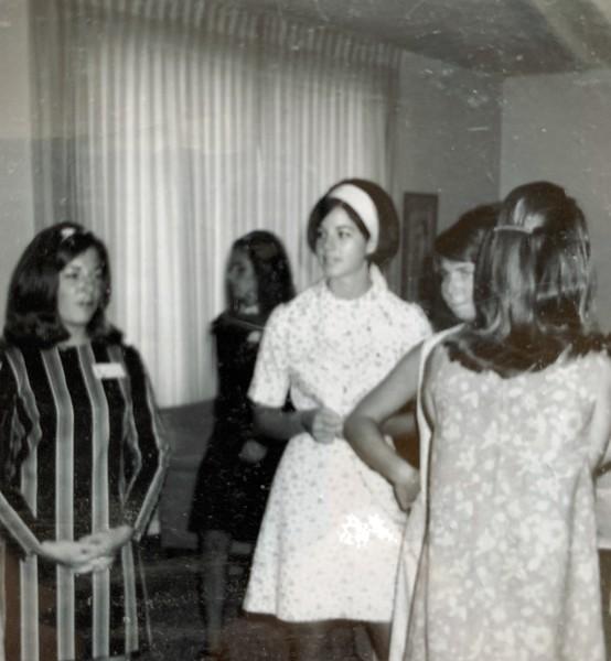 Gayle Horton, Priscilla Mutschler, Terry Bacon