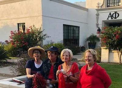 Sarah, Barbara, Lindsay, Susie