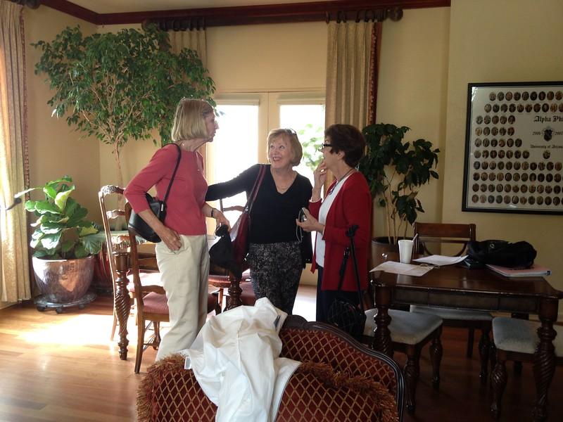 Elaine, Judy, Kathy