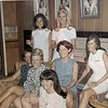 Marcia Metcalfe, Kappa Friends: Cheryl Charles, Diane Baum, Mary Guptil - my future partner, Chi O Peggy Willson - Diane Ong
