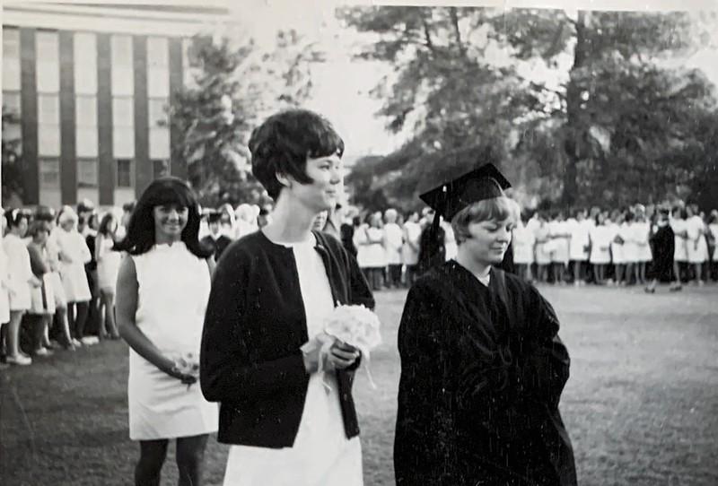 Diana Baum and Ann Jerman (Kappa friends)
