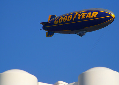 Goodyear Blimp over Avon!