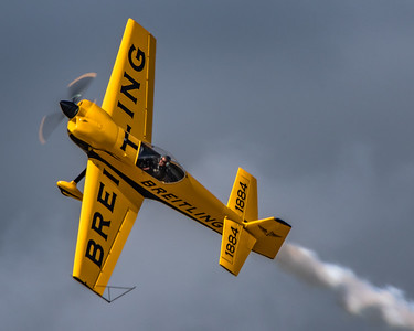 Acrobatic Precision! - David Martin and his Breitling CAP 232 - Performing Overhead at KAFW/Fort Worth Alliance.
