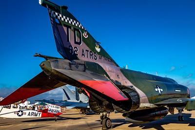 Rear Quarter View! - USAF McDonnell Douglas QF-4E 'Phantom II'