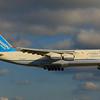 UR-82027 Antonov Heavy Metal on Final to CLE 24R!