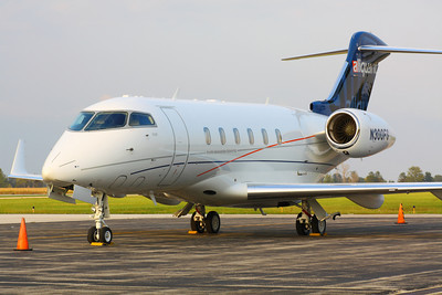 N300FS - Bombardier 'Challenger 300' - Lookin' Slick on the Ramp at KLPR!  © 2010 Paul L. Csizmadia  All Rights Reserved  No Use Allowed without Permission