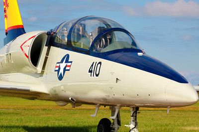 N239DM - Aero L-39C 'Albatros' - On the Ramp at KLPR!  © 2010 Paul L. Csizmadia  All Rights Reserved  No Use Allowed without Permission  A privately owned Aero Vodochody 'L-39C Albatros' based at KLPR sports Vietnam Era Navy colors, in the afternoon sun on the ramp.