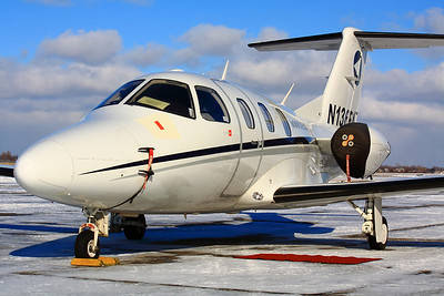 N136EA - 'Eclipse 500' (VLJ - Very Light Jet) - Sitting Pretty in a Cold Winter Sun at KLPR!  © 2011 Paul L. Csizmadia  All Rights Reserved  No Use Allowed without Permission