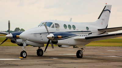 N6681S - Lines of a 'King Air' C90 - On the Ramp at KLPR!  © 2010 Paul L. Csizmadia  All Rights Reserved  No Use Allowed without Permission