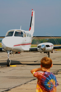 'Plane Wonder' - On the Ramp at KLPR!  © 2010 Paul L. Csizmadia  All Rights Reserved  No Use Allowed without Permission