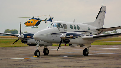 N6681S - Beechcraft C90 - 'King Air' at KLPR!  © 2010 Paul L. Csizmadia  All Rights Reserved  No Use Allowed without Permission
