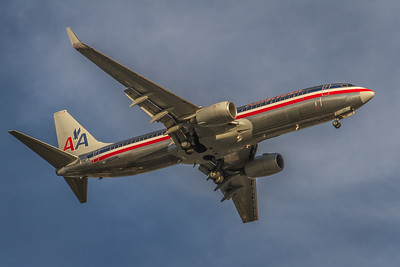 N800NN - American Airlines -  Boeing 737-823  - On Final to KSNA/Orange County Runway 19R