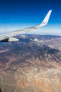 The View! - Westbound at 38,000 ft between Texas and California