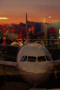 'Red Eye' Reflections!- KSFO (San Francisco International Airport)