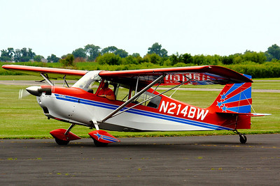 N214BW - 'Stars & Stripes' on the 4th!