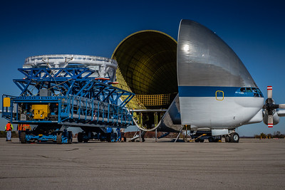 N941NA - NASA's 'Super Guppy' - Offloading on the Ramp! - KMFD/Mansfield Lahm Airport - Mansfield, Ohio