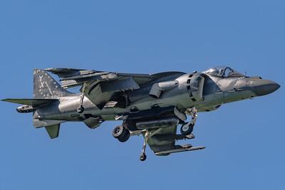 Marine Corps McDonnell Douglas AV-8B 'Harrier' - Downwind in the Pattern - NAF El Centro