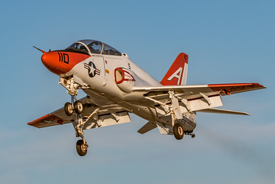 Where Naval Aviators Earn their Wings! - McDonnell Douglas T-45C 'Goshawk' Climbs Out from NAF El Centro for a Late Afternoon Hop