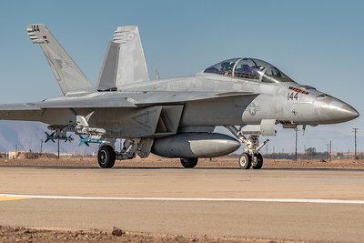 Headed Out for a Little Target Work! - NAVY F/A-18F 'Super Hornet' NAF El Centro