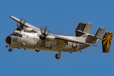 Another Grumman C-2A 'Greyhound' in the Pattern at NAF El Centro