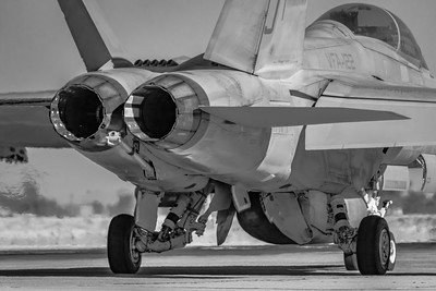 A Marine 'Hornet' Heads Out! - NAF El Centro