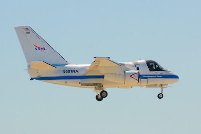 N601NA - NASA S3-B 'Viking' on Final for CLE 24R!