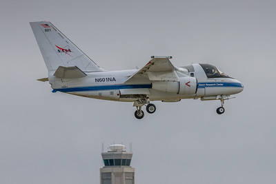 N601NA - NASA Glenn Research Lockheed S-3B Viking  - On Final for KCLE Runway 24R!